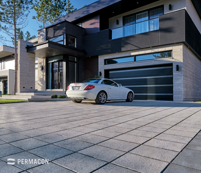 A prestigious result through the harmony of the pavers and stones