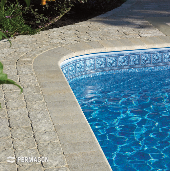 Beautify your poolside with this coping