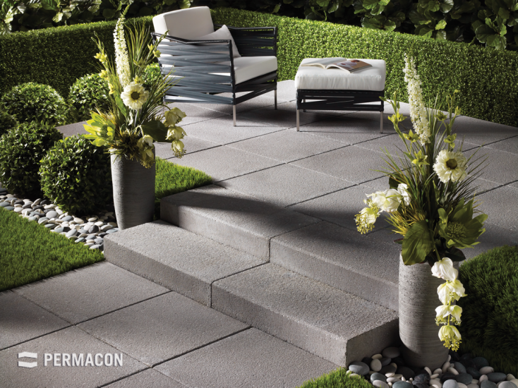 Complement the elegance of your outdoor layout with choice steps