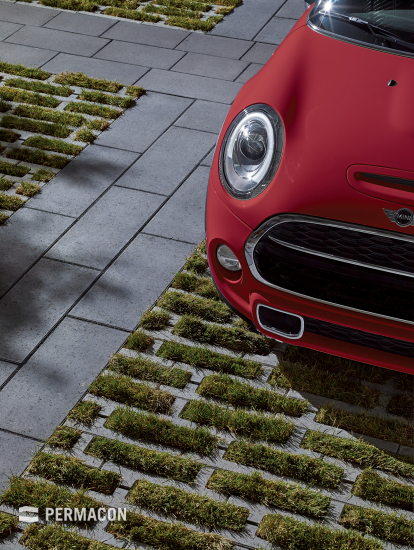 Urban and eco-friendly pavers
